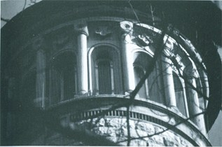 Detail südwestlicher Turm