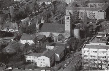 Gemeindezentrum St. Bonifatius, Blick vom Fernsehturm