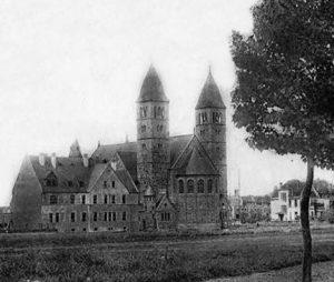 Die alte Bonifatius-Kirche
