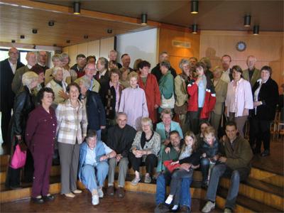 Gruppenbild im Gemeindehaus