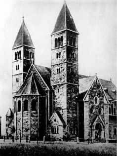 Die Bonifatiuskirche 1910